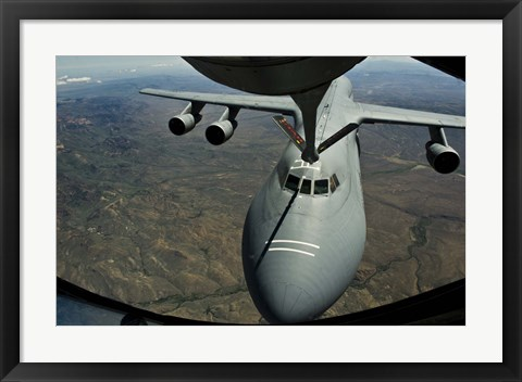 Framed US Air Force KC-135R Stratotanker Print