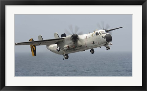 Framed C-2A Greyhound Print