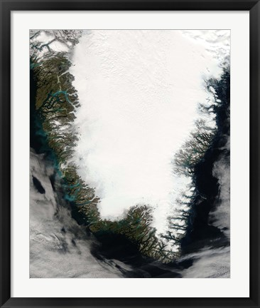 Framed Southern Greenland Print
