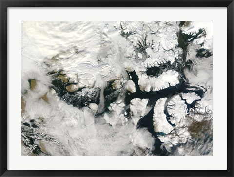 Framed Northwest Passage Print