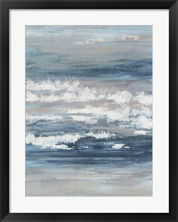 Framed At The Shore II Print
