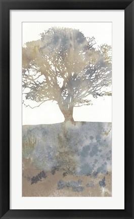 Framed Water Tree II Print