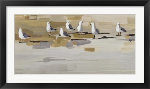 Framed Late Afternoon Gathering ? Print