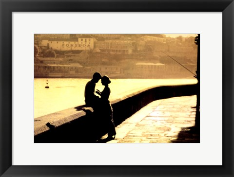 Framed Lovers Print