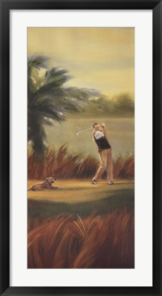 Framed Fairway Companion I Print