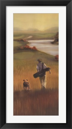 Framed Fairway Companion II Print
