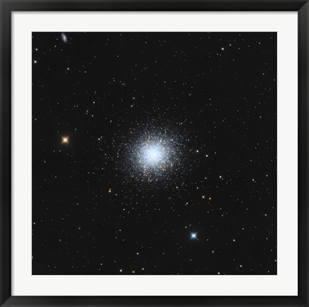 Framed Messier 13, The Great Globular Cluster in Hercules Print