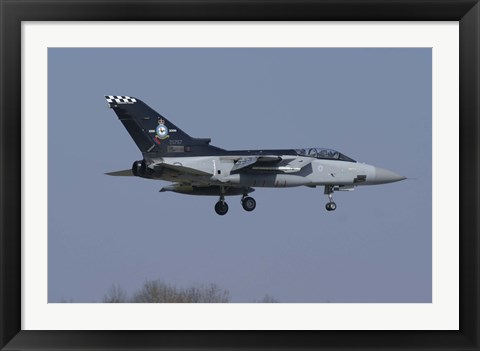 Framed Panavia Tornado F3 of the Royal Air Force Print