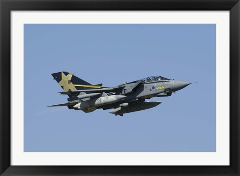 Framed Panavia Tornado GR4 of the Royal Air Force Print