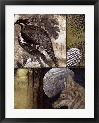 Framed On the Hunt III Print