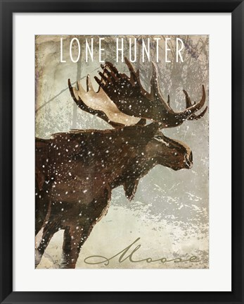 Framed Winter Game Four Print