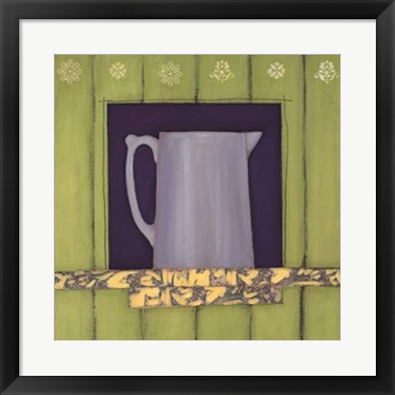 Framed Country Cupboard Two Print