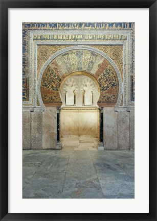 Framed Catedral Mosque of Cordoba, Interior, Cordoba, Andalucia, Spain Print