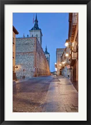 Framed Alcazar, Toledo, Spain Print