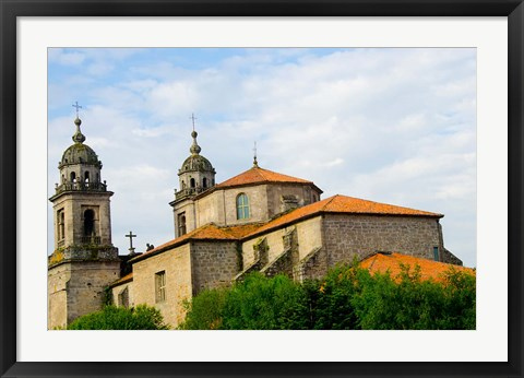 Framed Monastery San Francisco, Spain Print
