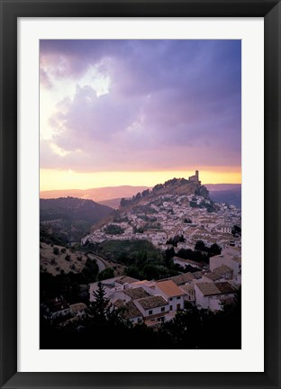 Framed Spain, Montefrio, Andalusia Print