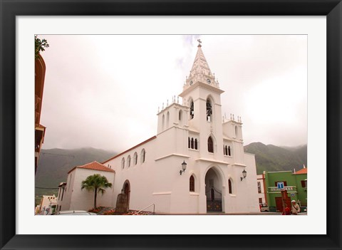 Framed Church on Tenerife, Canary Islands, Spain Print
