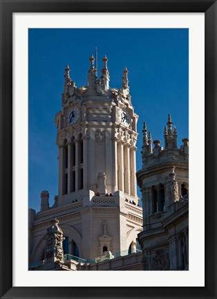 Framed Spain, Madrid, Palacio de Communicaciones Print
