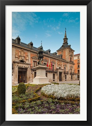 Framed Plaza de la Villa, Madrid, Spain Print