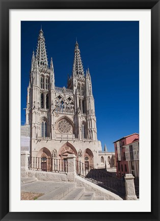 Framed Burgos Cathedral, Burgos, Spain Print
