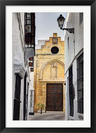 Framed Spain, Andalusia, Cadiz, Arcos De la Fontera The Chapel of Mercy Print