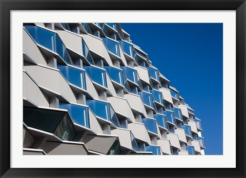 Framed Aragon Pavilion Building, Zaragoza, Spain Print