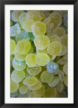 Framed Spain, Aragon, Zaragoza, Jellied Candy Print