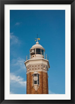 Framed Faro de Bonanza Lighthouse, Bonanza, Spain Print