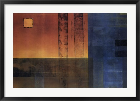 Framed Vanishing Point I Print