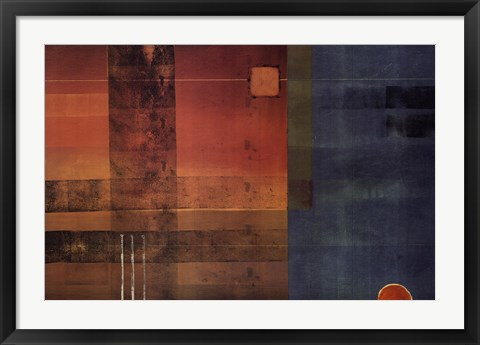 Framed Vanishing Point II Print