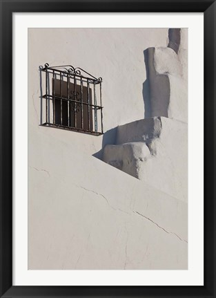 Framed Spain, Vejer de la Frontera, Town Buildings Print