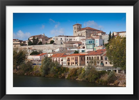 Framed Zamora, Spain Print