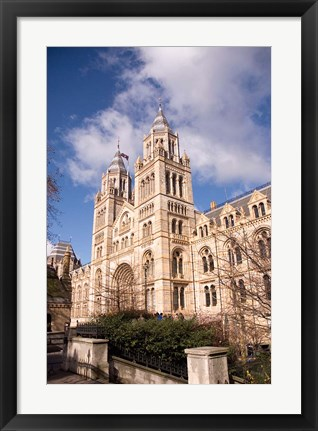 Framed Natural History Museum, London, United Kingdom Print
