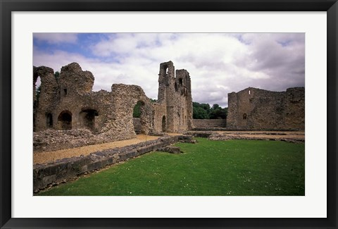 Framed Wolvesey Castle, Winchester, Hampshire, England Print