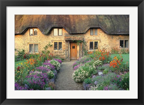 Framed England, Chippenham, Cotswold Stones of Home Print