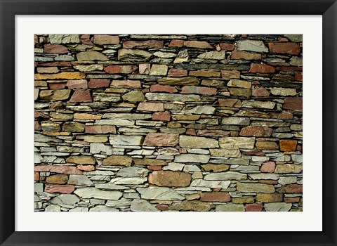 Framed England, Lake District, Stone Pattern Print