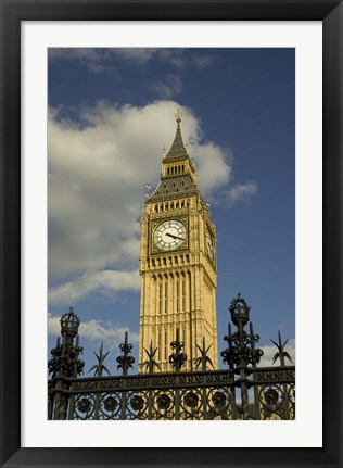 Framed Westminster, Big Ben, London, England Print