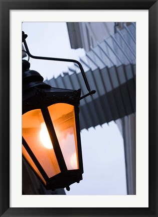 Framed Covent Garden, Royal Opera House Passageway, London, England Print