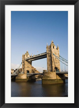 Framed England, London: Tower Bridge Print