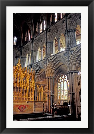 Framed Ely Cathedral, Cambridgeshire, England Print