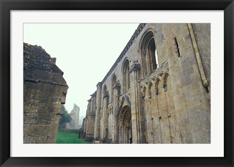 Framed Glastonbury Abbey, England Print