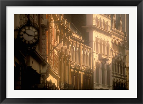 Framed Architecture Details, London, England Print