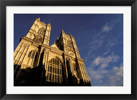 Framed Westminster Abbey, London, England Print