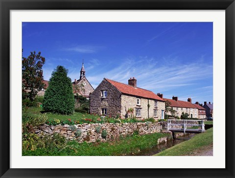 Framed Helmsley, North Yorkshire, England Print