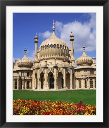 Framed Royal Pavilion in Brighton, East Sussex, England Print