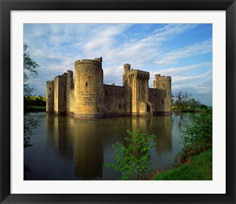 Framed Bodiam Castle, Sussex, England Print