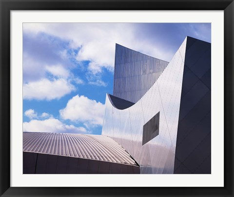 Framed Imperial War Museum North, Salford Quays, Manchester, England Print