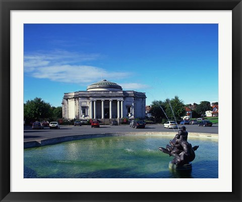 Framed Lady Lever Art Gallery, Port Sunlight Village, Wirral, Merseyside, England Print
