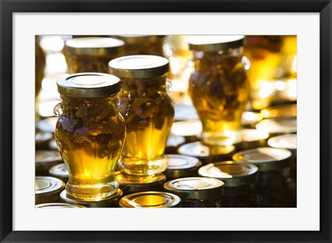 Framed Local Honey, Anafonitria, Zakynthos, Ionian Islands, Greece Print