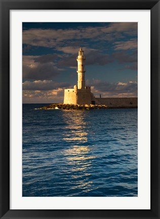 Framed Chania, Crete, Greece Print